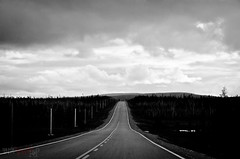 Lost Highway photo by WhiteFlowersFade