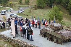 l'inauguration du monument du char (29 septembre 2012)