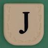 Line Word black letter J