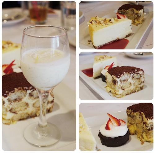經典羅曼諾綜合甜點盤
