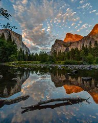 Valley View Calm Evening Reflection photo by Jeffrey Sullivan