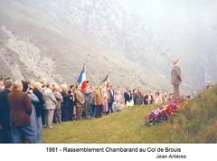 Authion - 1981 Chambarand Col de Brouis - Fonds E. Gauthier