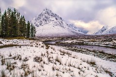 Buachaille Etive Mor in the Snow photo by Bathsheba 1