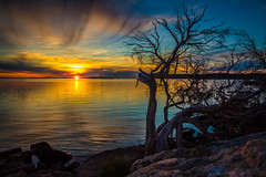 Sunset at Coffin Bay, South Australia photo by Jacqui Barker Photography