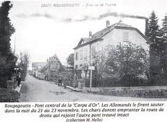 1944- Franche Comté-Vosges- Rougegoutte - Source   La Voge 2012 Hors série - Libération du pays sous-vosgien AHPSV