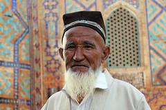 A portrait from Uzbekistan (1) (Samarkand) photo by Frans.Sellies