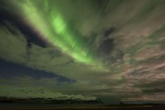 Aurora borealis in Faskrudsfjordur photo by *Jonina*
