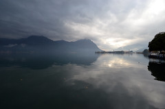 Lago d'Iseo Reflection photo by albireo2006