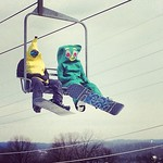 #gumby and a banana made it out today. Are you in costume? Show us and tag #ppcarnival