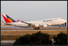 LAX/KLAX Philippine Airlines Boeing 747-4F6 RP-C8168 photo by djlpbb40