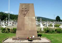 """Cimetière de Giromagny - Monument """"aux généreux de la DFL"""" - Crédit photo : Alain Jacquot Boileau"""