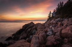 Bass Harbor Head Lighthouse, Acadia National Park HDR photo by Brandon Kopp