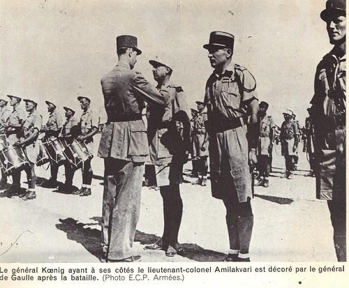 1942- Koenig - Libye- après Bir Hakeim