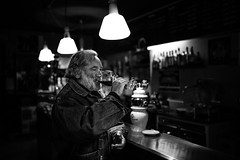 Drinking wine and dreaming photo by Giulio Magnifico