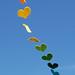 Ibiza - Rainbow Hearts in the breeze