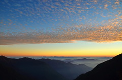 Sunset in Nepal Himalayas photo by Jenny NLF