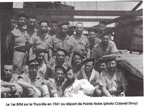 RFM - A bord du Thysville 1941