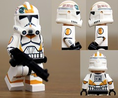 Custom LEGO Clone Trooper Waxer (Clone Wars Phase 2) photo by JPO97Studios