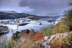 Queen's View in winter photo by VisitScotland