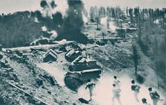 1945 - Authion - Cabanes vieilles