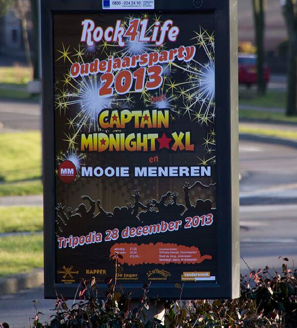 Rock4Life Oudejaarsparty 2013