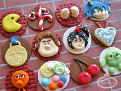 Wreck-It Ralph Cupcake Toppers photo by Lynlee's
