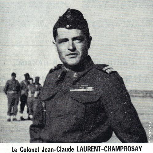RA- 1942 - Libye- Le lieutenant colonel Champrosay