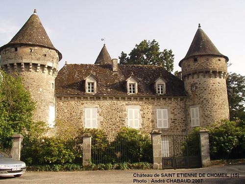 Château de SAINT ETIENNE DE CHOMEIL (15) 2007
