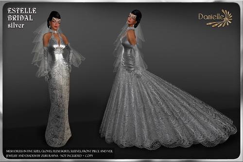 DANIELLE Estelle Bridal Silver