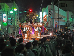 Mikoshi Procession (Explored) photo by Rekishi no Tabi (2m views! Thanks!)
