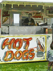 A Hot Dog or Hot Chips? photo by Steve Taylor (Photography)