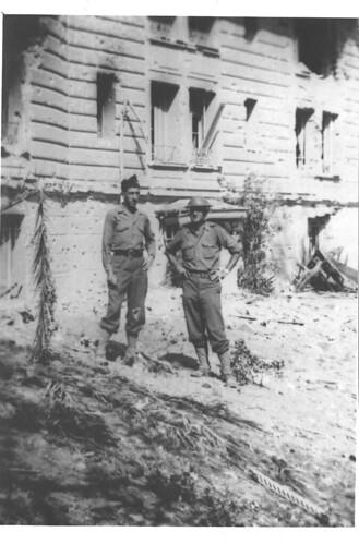 Provence- 1944 - 21 aout - Golf Hôtel Commandant Magendie et Capitaine Perrault tué le 23 août 1944