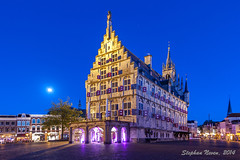 Beauty in the blue hour: City Hall, Gouda photo by Stephan Neven