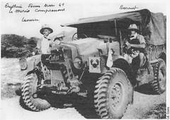 Génie - 1941 février ou mars - Erythrée - Col. Ozanne
