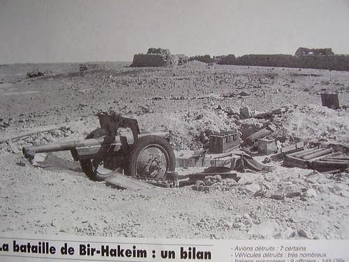Après BH un canon de 75 sur la postion