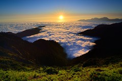Sea of clouds @ Mt. Hehuan 合歡雲海 photo by Vincent_Ting