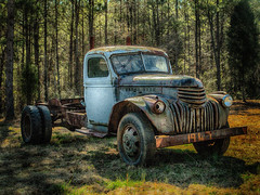 old 1947 Truck photo by Marianne Venegoni