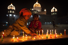 Candles, Patiala photo by Marji Lang
