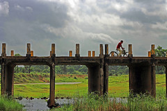 A rider and the bridge photo by soumen19xx