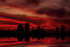 The Sky is On Fire photo by © Hussain Frutan | www.hf-photos.net