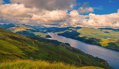 View Over Loch Long toward Arrochar photo by Bathsheba 1