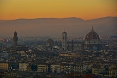 Sunset in Florence [EXPLORE] photo by Antonio Cinotti 
