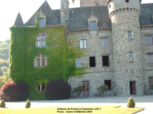Château de Pesteil à Polminhac (15) 1