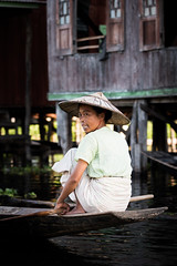 Inle Lake Villager photo by Josh Haftel