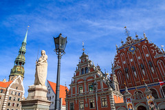 Greetings from beautiful Riga, Latvia (UNESCO world heritage) photo by Frans.Sellies