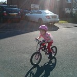 Riding in the sunshine<br/>09 Mar 2014