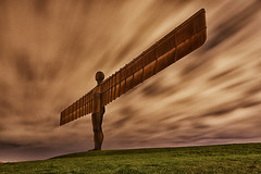 Angel Of The North At Night photo by mark_mullen