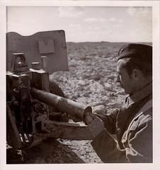 1942- Libye- Soldat du Bataillon d'Infanterie de Marine - Col. Blandine Bongrand Saint Hillie
