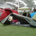 Emma quite likes this tent<br/>01 Jun 2013