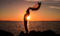 Sunset Silhouette photo by Jamie Frith